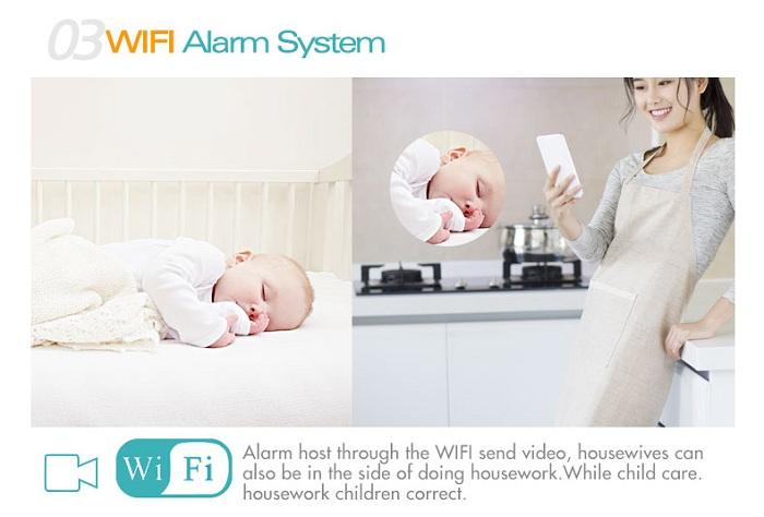 3g wifi ip camera with gsm sim card gsm alarm system z-wave siren chinese home made video self defense smart home smartphoes