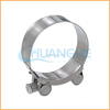 Dongguan Chuanghe Made High Quality promotional rubber coated p style hose clamp