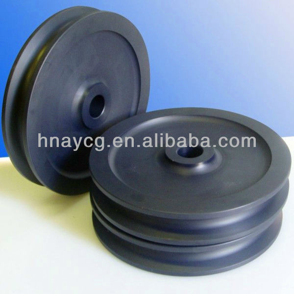 Self-lubricating Polyethylene Plastic Drilling Sheave