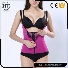 Free sample adjustable Steel Boned Waist Training Corsets with sexy women Shapewear underwear
