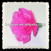 pink mother's day crafts feather carnation flowers