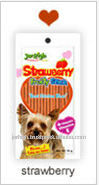 Jerhigh Premium Strawberry Stix Healthy Chicken Pet Snack