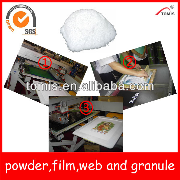 Hot melt adhesive powder for heat transfer printing - Polyurethane