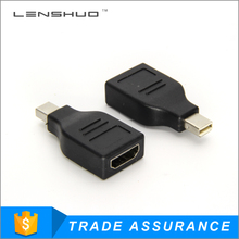 China factory mini dp displayport female to hdmi male adapter cable