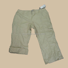 2014 summer new style M-Trousers fashion beige short pants New Arrival high quality women's pants