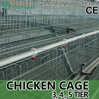 9WCD-3120 A-type Hot Galvanized Layer Chicken Cage