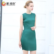beautiful lady designer solid color slim dress women party frocks 2016