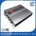 4-Channel UHF RFID fixed reader connect with Antenna For Access Control System