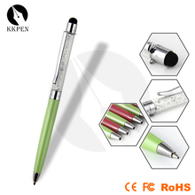 Jiangxin twist function shenzhen stylus touch pen with ball pen