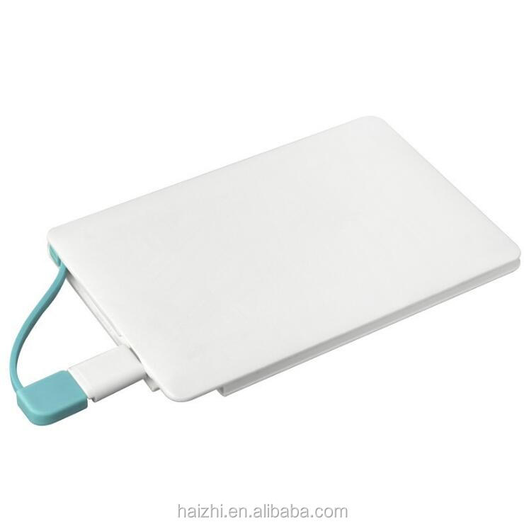 credit card power pack Mobile Phone Charger 8000mah Power Bank 6000mah with CE certificate