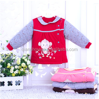 100% washable cotton Warm quilted baby jacket baby clothes gift box