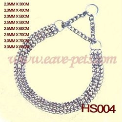 High Quality Metal Dog Chain Dog Collar Pet Products Dog Training Products HS004