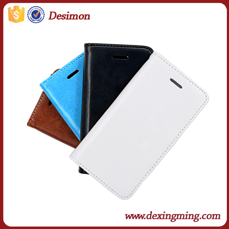 Factory Magnetic Flip PU Leather Credit Card phone Case Cover stand for iphone 4 4s