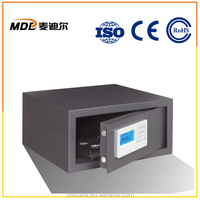 High Security Iron Cash Case Safe Laptop Size For Hotel Using