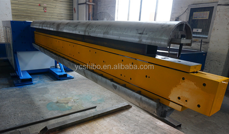 HVAC pipe flat oval duct forming machine