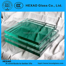 Hexad 8 mm Clear Tempered / Toughened Glass with Fine Polished Edges