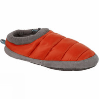 Waterproof Winter Thermal Fleece Lining Women's Quilted Down Slippers With Memory Foam Padded Footbed