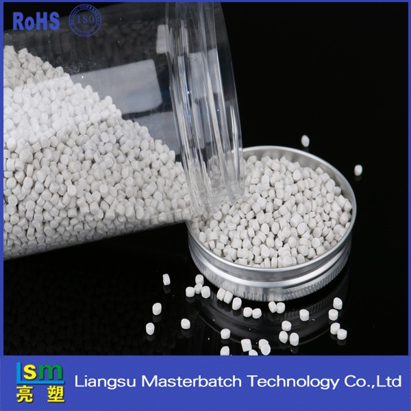 transparent plastic masterbatches filler Caco3 baso4for pe film bag raw materials plastic pellets price masterbatch master batch