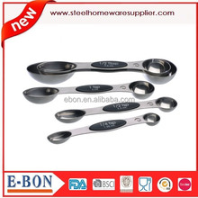 5pcs Amazon Stainless Steel Magnetic Measuring Spoon