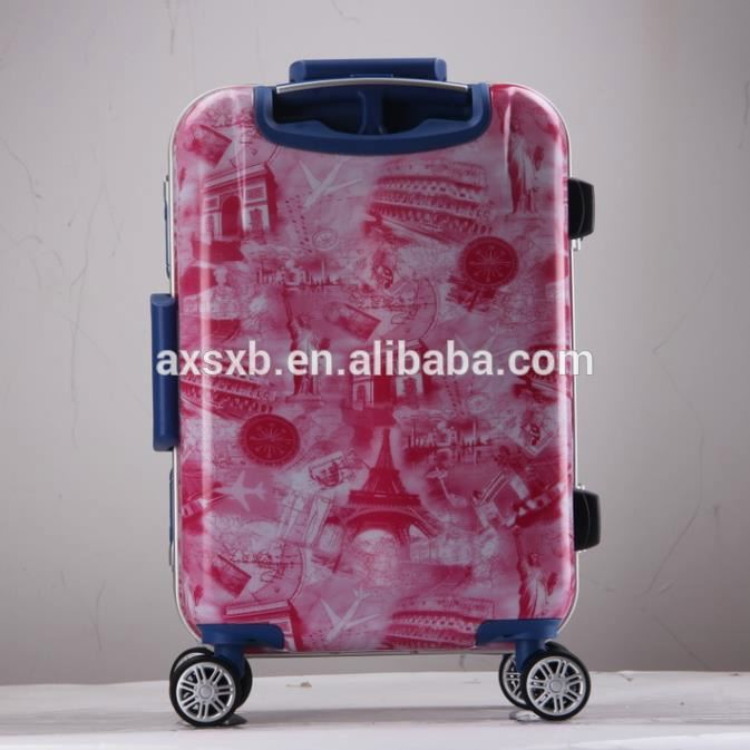 Trendy style special design abs pc luggage case