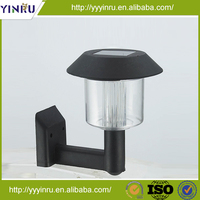 Solar wall lamp for outdoor lighting