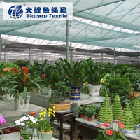 HDPE woven green shade cloth for plants