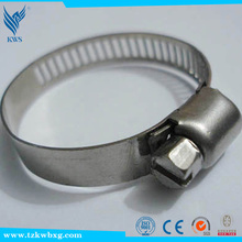Special cutting torch tight clamp throat hoop Galvanized Hose Clamp
