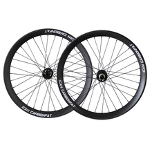 2017 OEM Toray carbon fat bike wheelset 4.8 fat tire wheels