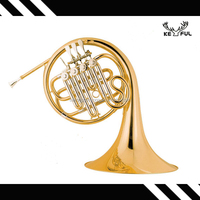 keful 4 keys single brass chinese french horn