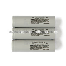 unprotected high power battery 3.7V panasonic CGR18650CH 2250mah