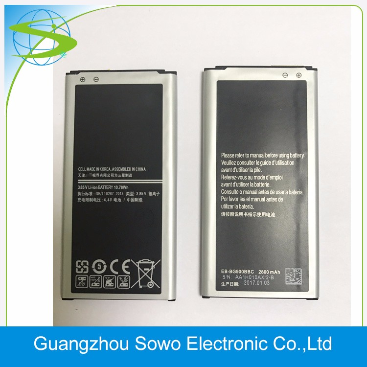 Hotsale 3.85 V 2800mAh Battery for Samsung Galaxy S5 Battery
