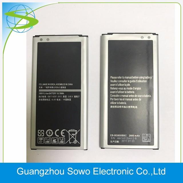 Hotsale 3.85 V 2800mAh Battery for Samsung Galaxy S5 Battery