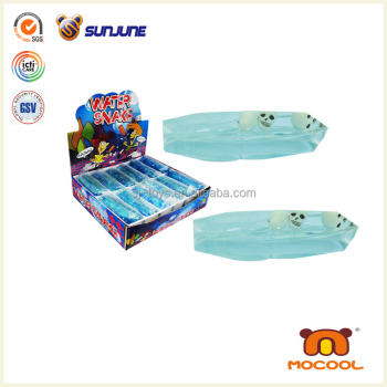 2014 best selling child skull head water snake toy, water wiggler toy