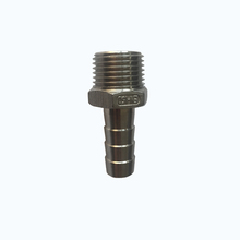 ss316 stainless steel npt bsp bspt threaded hose nipple pipe fittings
