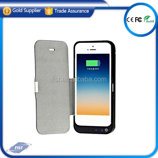 Latest for apple iPhone 5 5s 5c battery Charger Case 4200mah external batteries for iphone case