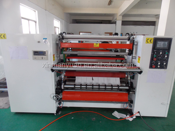 Thermal Fax/pos/cash /Taxi paper roll to roll slitting machine