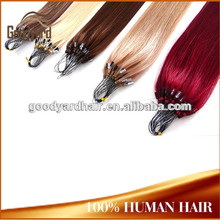 2015 new style cheap price black star micro braid weft hair