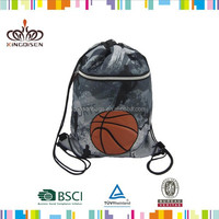 Fashion Fabric Drawstring Bag Drawstring Duffle Bag