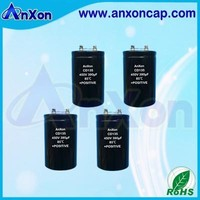 Screw Terminal Aluminum Electrolytic Capacitor 450V 390uF Alu Elect Capacitor 390uF 450V Large Can Capacitor 390MFD 450V