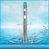 price DC solar water pump for agriculture water submersible pump deep well solar water pump