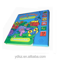 Sound board ,sound pad with funny pictures for children book, used for children's pre-school education
