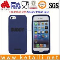silicone phone case cover for iphone 5/6