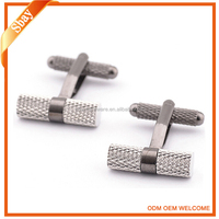 New fashion custom made mens suit shirt metal cuff link