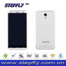 5.5 inch HD IPS capacitive touch screen MTK6582 Quad Core Android 4.4 WIFI Bluetooth 3G Mobile Phone SF-VK700 Pro