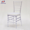 durable crystal clear wedding chair for sale