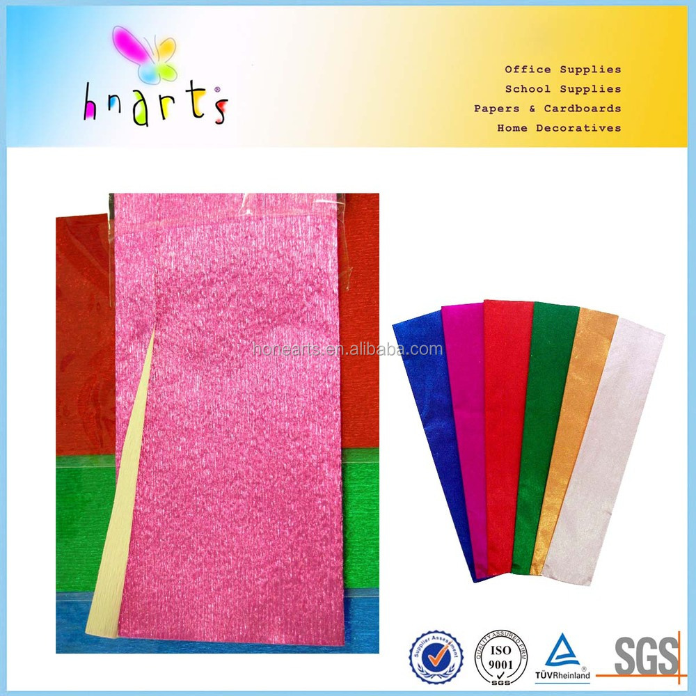 Hot salable fancy printed crepe paper