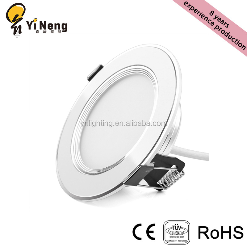Aluminum led down light 3 inch 3w 5w 7w 9w 12w smd recessed ceiling led light <strong>downlight</strong>