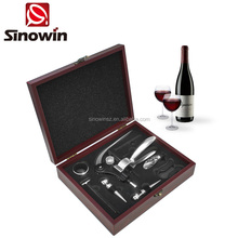 Luxury Rabbit Wine Opener Wine Kit with Wood Wine Box