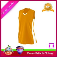 Hot selling top quality short sleeve basketball jersey from supplier