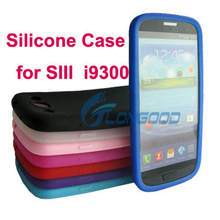 Universal Top Quality Silicone Back Cover Case For Samsung S3 i9300 SIII